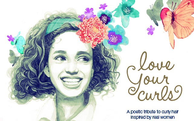 "Portada del libro ""Love your curls"""