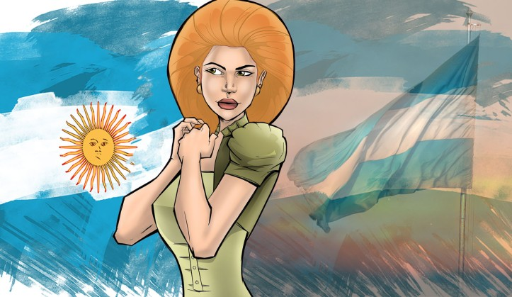 Woman Afroargentina